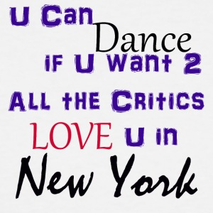 Prince - All The Critics Love U in New York - Men's Tall T-Shirt