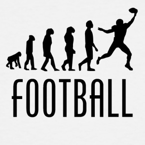 Football Evolution Wide Receiver - Men's Tall T-Shirt