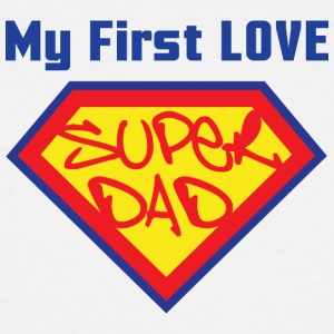 SUPER DAD - Men's Tall T-Shirt