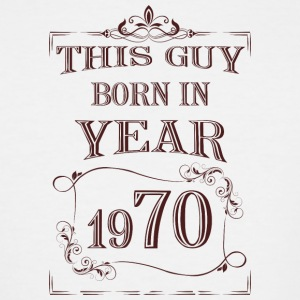 this guy born in year 1970 - Men's Tall T-Shirt