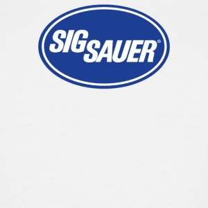 Sig Sauer Guns Oval - Men's Tall T-Shirt
