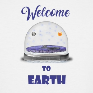 welcome to Earth - Men's Tall T-Shirt