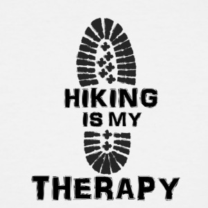 Hiking Is My Therapy - Men's Tall T-Shirt