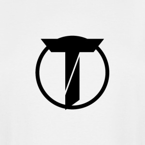 TazzAssIn Black T Logo - Men's Tall T-Shirt
