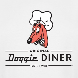 Doggie Diner Logo 1 with NO back color - Men's Tall T-Shirt