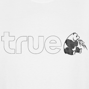 True Panda linear - Men's Tall T-Shirt