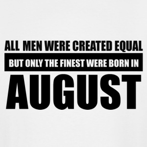 All men were created equal August designs - Men's Tall T-Shirt
