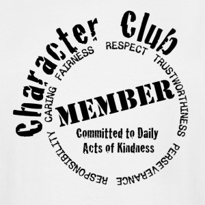 Character Club Member - Men's Tall T-Shirt
