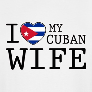 Cuban Wife - Men's Tall T-Shirt