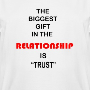 Relationship Trust - Men's Tall T-Shirt
