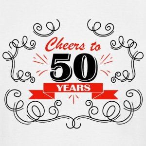 Cheers to 50 years - Men's Tall T-Shirt