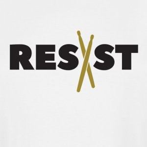 Resist Drums - Men's Tall T-Shirt