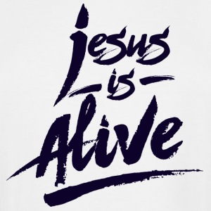 Jesus is Alive - Men's Tall T-Shirt