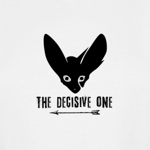Fox: The Decisive One (Black) - Men's Tall T-Shirt