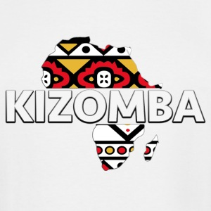 Kizomba_map - Men's Tall T-Shirt