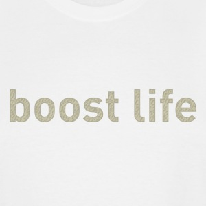 Oxford Tan Boost Life Short Sleeve T-Shirt - Men's Tall T-Shirt