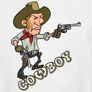 Cowboy T-shirt - Men's Tall T-Shirt