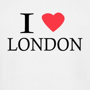 I Love London - Men's Tall T-Shirt