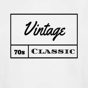 Vintage 1970s Classic - Men's Tall T-Shirt