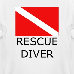 Rescue Diver - Men's Tall T-Shirt