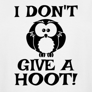I Don't Give A Hoot - Men's Tall T-Shirt