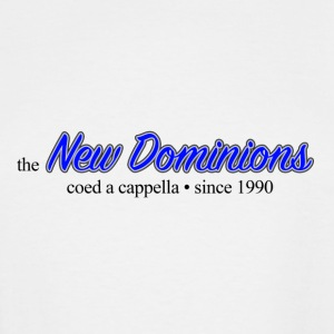 New Dominions Cursive Font - Men's Tall T-Shirt