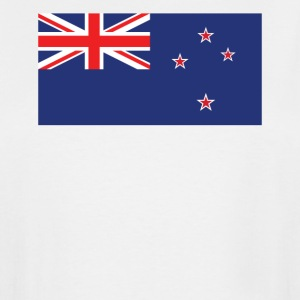 Flag of New Zealand Cool Kiwi Flag - Men's Tall T-Shirt