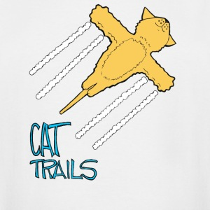 Conspiracy Theory Dave The Cat CatTrails - Men's Tall T-Shirt