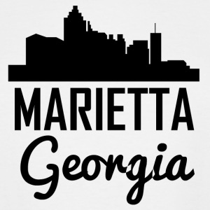 Marietta Georgia Skyline - Men's Tall T-Shirt