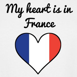 My Heart Is In France - Men's Tall T-Shirt
