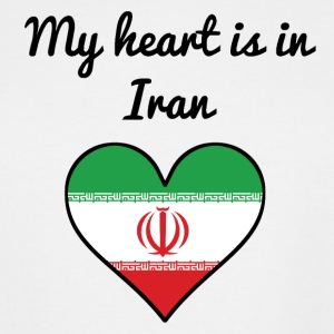 My Heart Is In Iran - Men's Tall T-Shirt