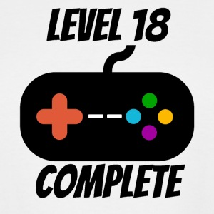 Level 18 Complete 18th Birthday - Men's Tall T-Shirt