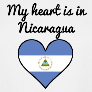 My Heart Is In Nicaragua - Men's Tall T-Shirt