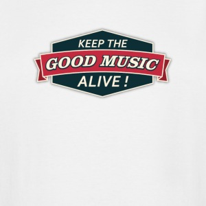 Keep The Good Music Alive Vintage - Men's Tall T-Shirt