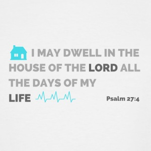 Psalm 27:4 - Men's Tall T-Shirt