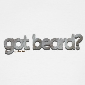 got beard?-Furry Fun-Bear Pride-Silverback - Men's Tall T-Shirt