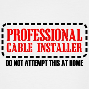 PROFESSIONAL - PROFESSIONAL CABLE INSTALLER DO N - Men's Tall T-Shirt
