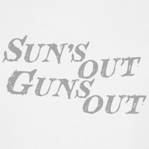 Bodybuilding - Sun's out guns out - Men's Tall T-Shirt