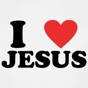 Jesus - I Love Jesus - Men's Tall T-Shirt