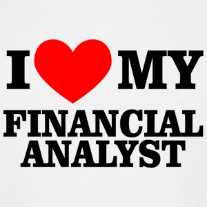 Financial analyst - i love my financial analyst - Men's Tall T-Shirt