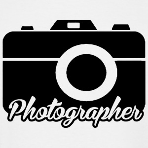 Photographer - photographer - Men's Tall T-Shirt