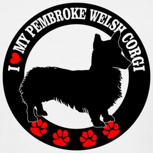 Pembroke welsh corgi - i love my pembroke welsh - Men's Tall T-Shirt