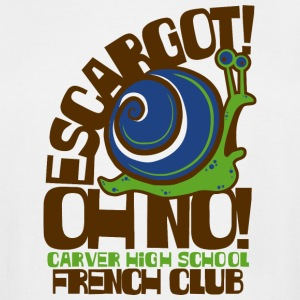 CARVER HIGH SCHOOL FRENCH CLUB - Men's Tall T-Shirt