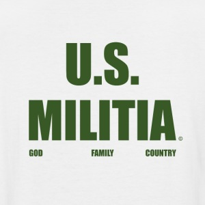 US MILITIA - Men's Tall T-Shirt