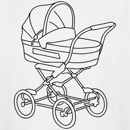 Baby stroller - Men's Tall T-Shirt