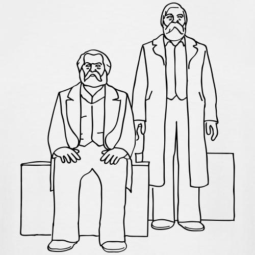 Marx-Engels Forum Berlin - Men's Tall T-Shirt