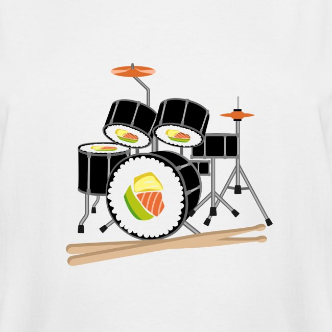 Sushi Roll Drum Set