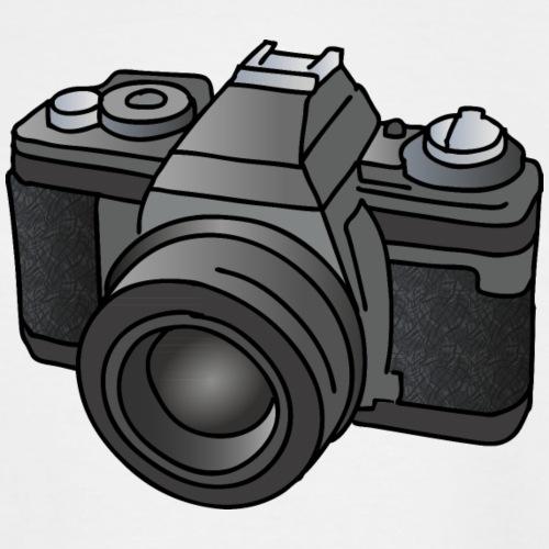 Camera, SLR, photography - Men's Tall T-Shirt