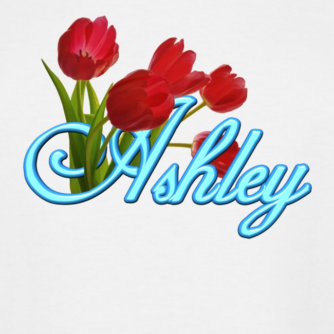 Ashley With Tulips