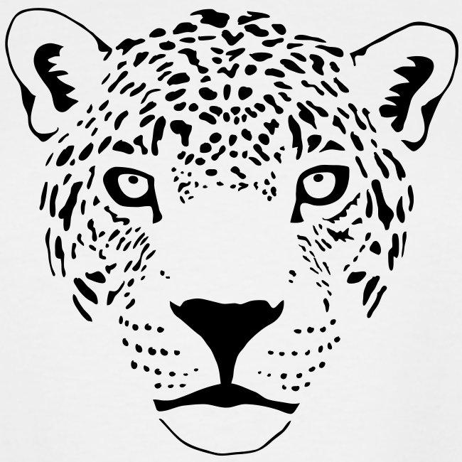 léopard jaguar puma fauve prédateur chat tigre   T shirt grande taille homme